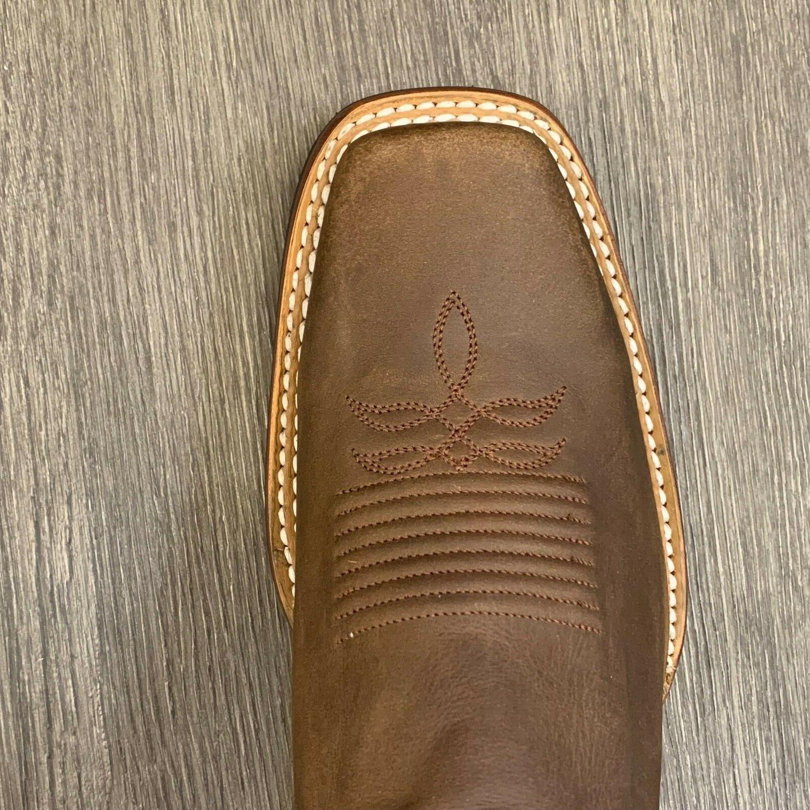 MEN'S WESTERN COWBOY SQUARE TOE REAL
