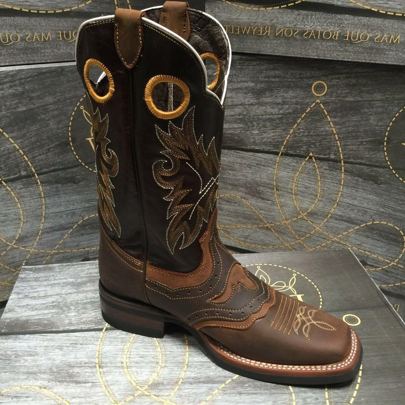 MEN'S RODEO GENUINE TOE BROWN