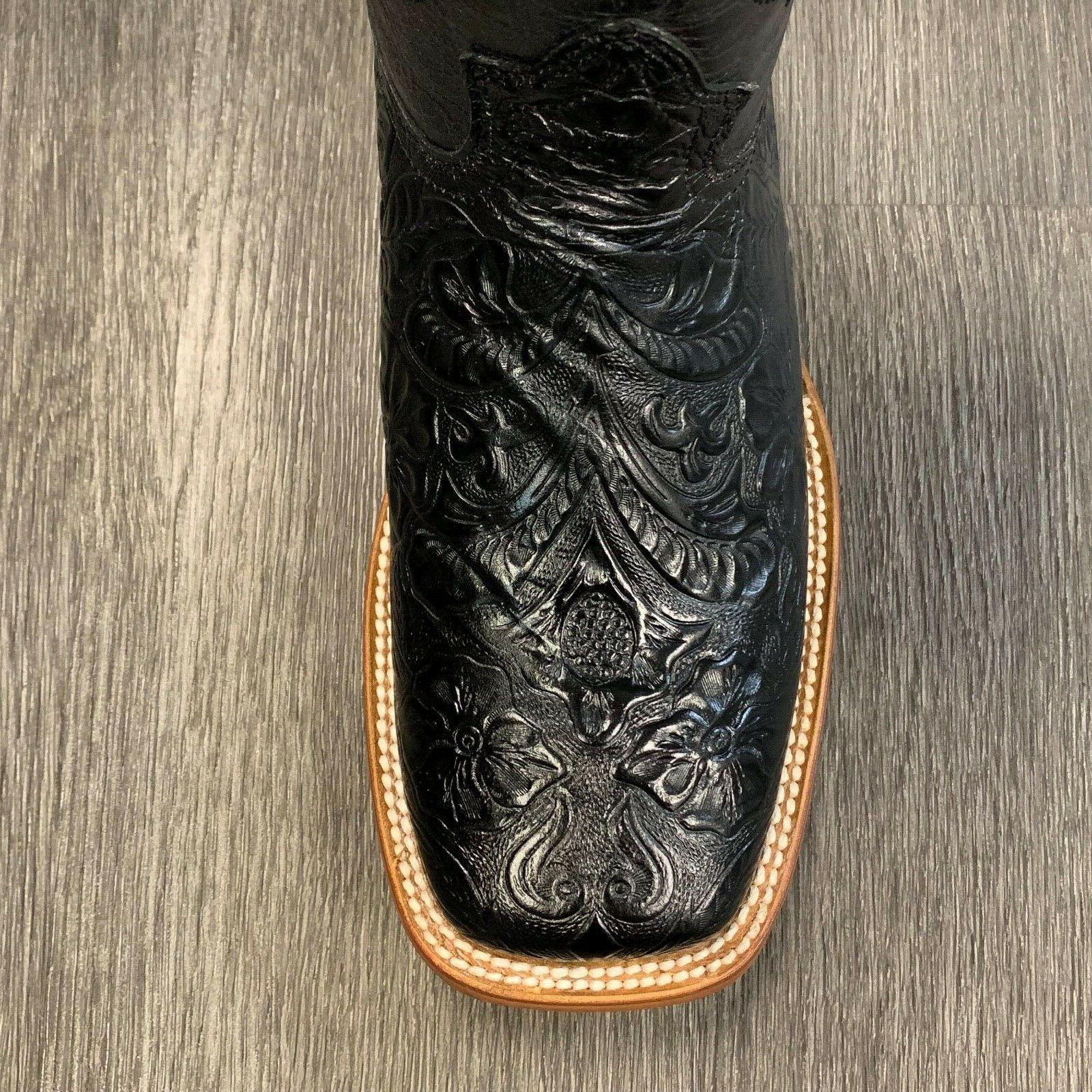 MEN'S RODEO COWBOY REYWELT BRAND TOOLED LEATHER