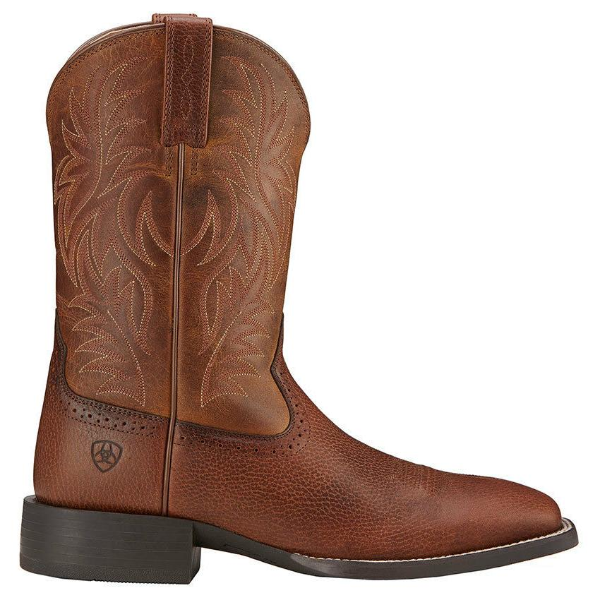 Ariat® Sport Wide Square Brown Boot