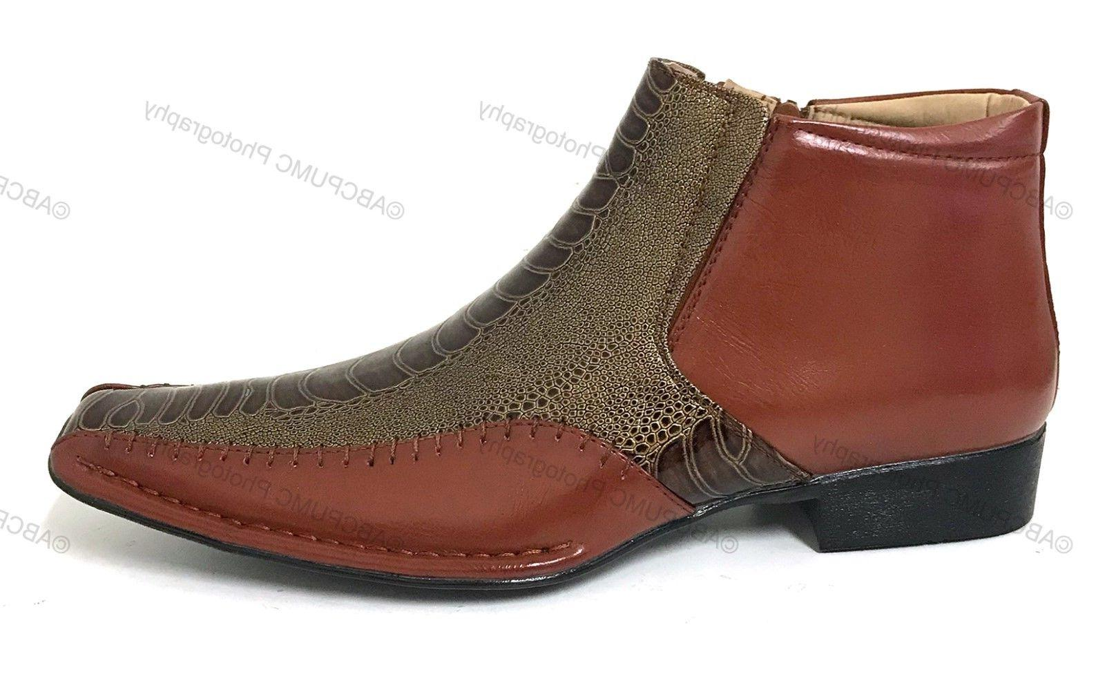 New Boots Crocodile Lined Ankle