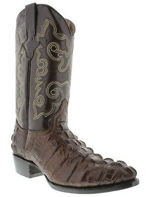 Mens Tail Design Round Toe Boots