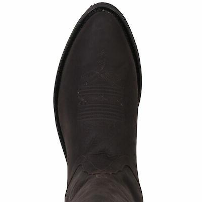 Old West Leather Toe 13in