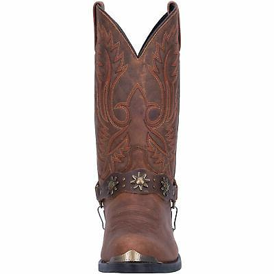 Laredo Mens Boots Leather Brown