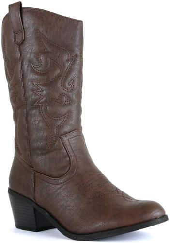 West Western Boots, Brown 11