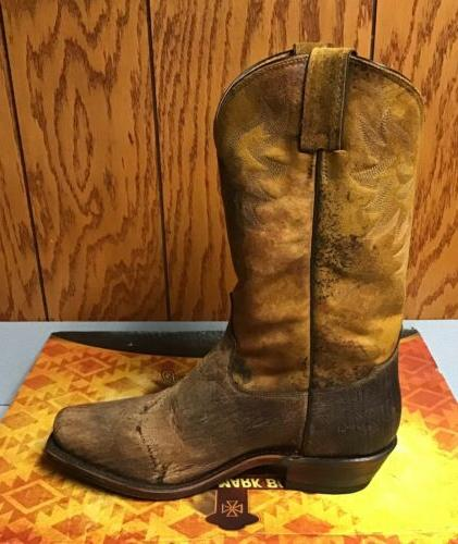 New D Tony Lama Prine Tan Cowboy