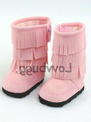 pink western fringe cowgirl cowboy boots