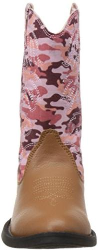 Deer Ranch Boot , Tan/Pink Camouflage, 11 US Kid