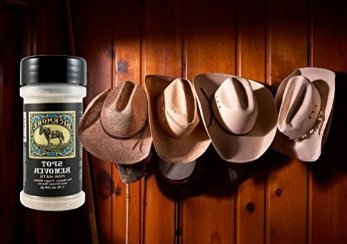 Bickmore Spot Hats- and Removes Stains, and Rings Cowboy
