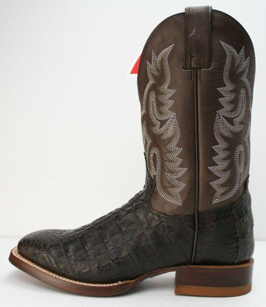 72bed5a9efd Justin Boots Voltage Almond Caiman Exotic Boots CX1251