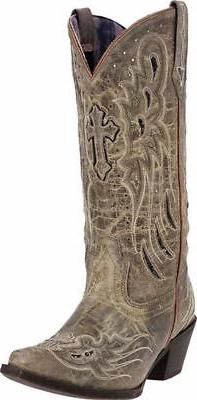Laredo Western Boots Womens 12 Wing Underlay 52157