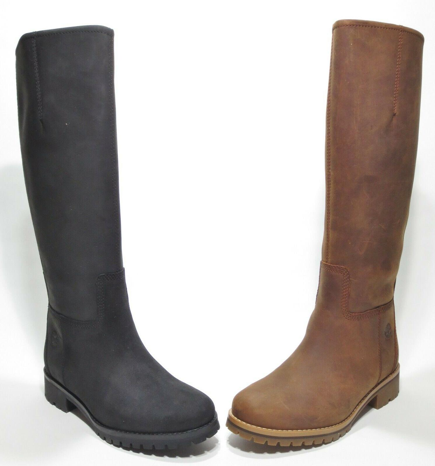 Hill Premium Leather Tall Boots