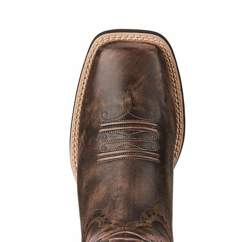 Ariat Women's Chocolate Brown Quickdraw Toe Boots