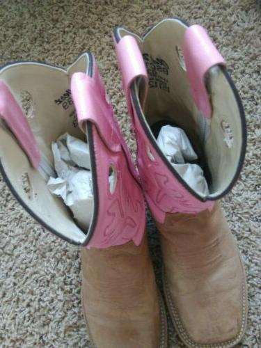 Women's West 6 Pink Camel 030