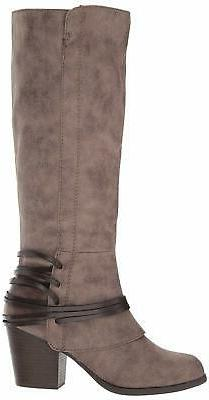 Fergalicious Women's lexis Western Boot, Taupe, Size 5.0