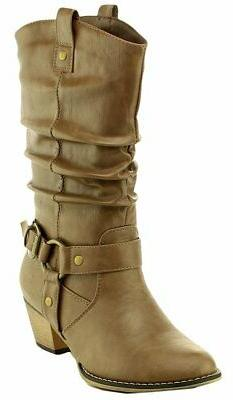 Cambridge Select Women's Pull-On Country Western Style Cowbo