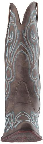 Roper Women's Boot, Brown, US