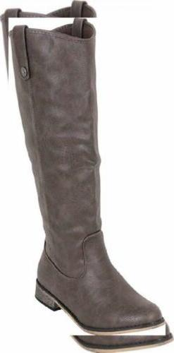 Cambridge Select Women's Classic Western Cowboy Knee-High Ri