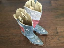 Ladies Corral Cowboy Boots Size 8 Medium Model A2518 Texas F