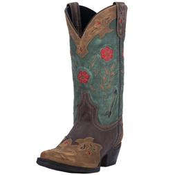 Laredo Womens Miss Kate Western Cowboy Boots Floral Embroide