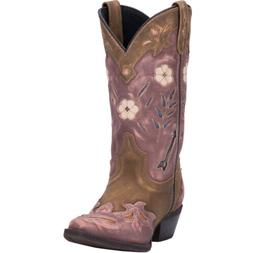 Laredo Womens Miss Kate Western Cowboy Boots Leather Arrow S
