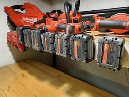 Milwaukee M18 Battery Wall Mount Holder, 6 PACK