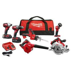 Milwaukee M18 6-Pc. Combo Kit 2695-26CX New