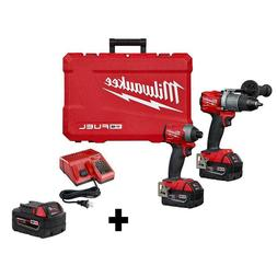 M18 Fuel 18 Volt lithium ion Brushless Cordless Hammer Drill
