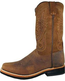 Smoky Mountain Men's Boonville Cowboy Boot - Square Toe - 40