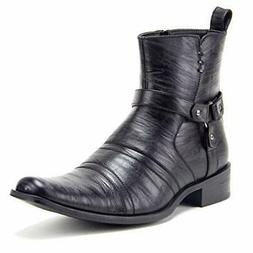Men's Colt Fashion Harness Zip Western Cowboy Riding Boots