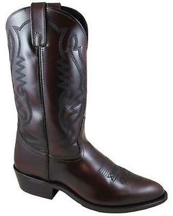 Smoky Mountain Men's Denver Cherry Western Boot - Medium Toe