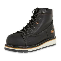 "Timberland PRO Men's 6"" Gridworks Alloy Toe Work Boot Black"