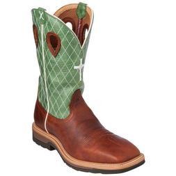 Men's Twisted X Lite Cowboy Work Wide Square Toe Non Steel B