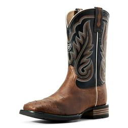Ariat® Men's Ostrich and Black Promoter Western Boot 100297