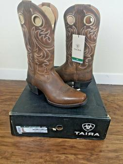 Ariat Men's Sport Cowboy Boots Size 9.5 D Medium / Square To