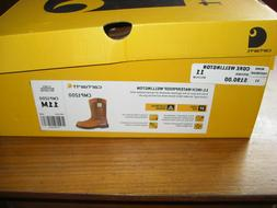 MEN'S CARHARTT STEEL TOE ELECTRICAL HAZARD WELLINGTON BOOT C