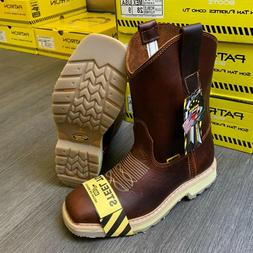 men s steel toe work boots genuine