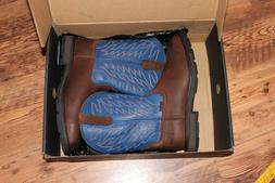 men's Ariat work boots size 11D square steel toe, Harvester