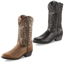 Guide Gear Mens 12 Cowboy Boots Padded Insole Rubber Outsole