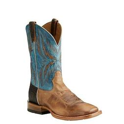 Ariat Mens Arena Rebound Wide Square Toe Western Boot Dusted