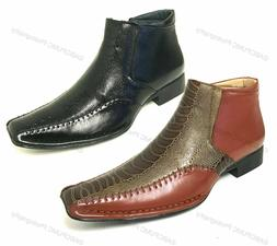 New Men's Boots Alligator Crocodile Cowboy Western Leather