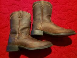 MENS ARIAT HERITAGE ROPER COWBOY BOOTS! 10002284 DISTRESSED