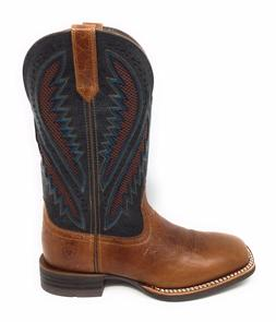 Ariat Mens Quickdraw Venttek Western Cowboy Boot Leather Siz
