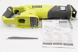 new 18 volt one cordless reciprocating saw