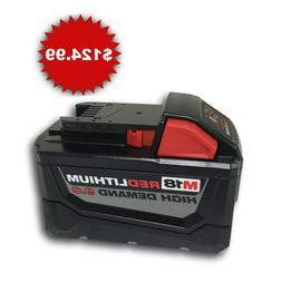 New Milwaukee 48-11-1890 M18 18V 18 Volt Red Lithium High De