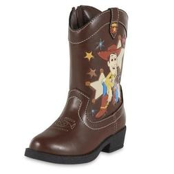 NEW Boys Toddler Disney TOY STORY Woody Western Cowboy Boots