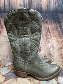 NEW Coconuts by Matisse Chance Cowboy Western Boots Women's