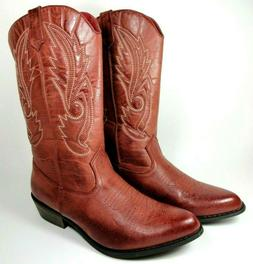 Coconuts By Matisse Womens Sz 8.5 M Gaucho Red Cowboy Wester