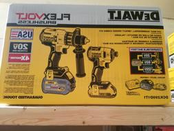 NEW Dewalt Dck299d1t1 FLEXVOLT Lithium Ion Cordless Brushles