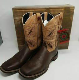 new men s western chocolate tan leather